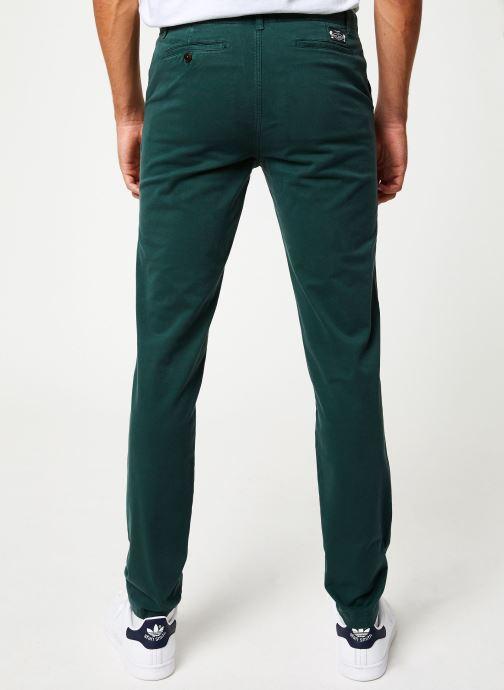 Vêtements Cuisse de Grenouille PANTS - CHINO CLASSIC Vert vue portées chaussures