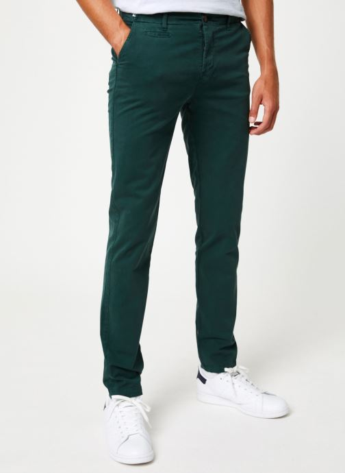 Vêtements Cuisse de Grenouille PANTS - CHINO CLASSIC Vert vue détail/paire
