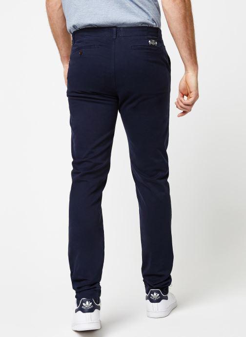 Vêtements Cuisse de Grenouille PANTS - CHINO CLASSIC Bleu vue portées chaussures