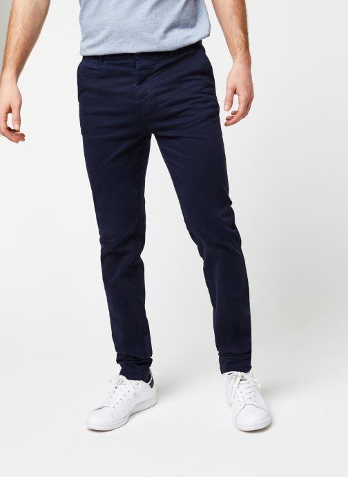 Vêtements Cuisse de Grenouille PANTS - CHINO CLASSIC Bleu vue détail/paire