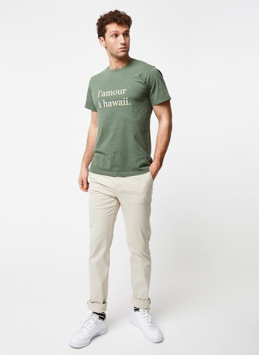 Vêtements Cuisse de Grenouille PANTS - CHINO CLASSIC Beige vue bas / vue portée sac