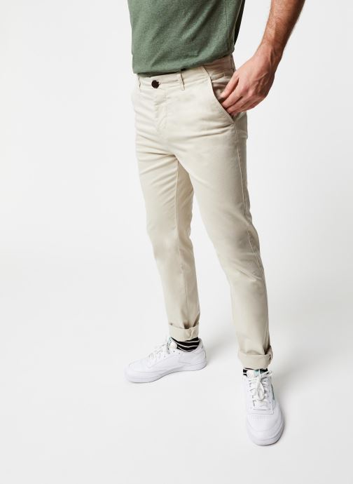 Vêtements Cuisse de Grenouille PANTS - CHINO CLASSIC Beige vue détail/paire