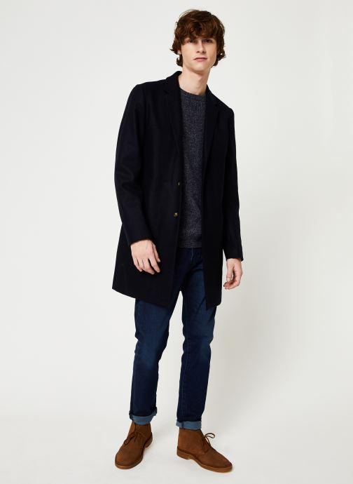 Vêtements Cuisse de Grenouille KNIT SWEATER - CLASSIC Bleu vue bas / vue portée sac