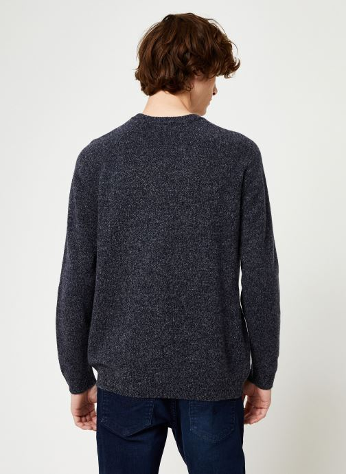 Kleding Cuisse de Grenouille KNIT SWEATER - CLASSIC Blauw model