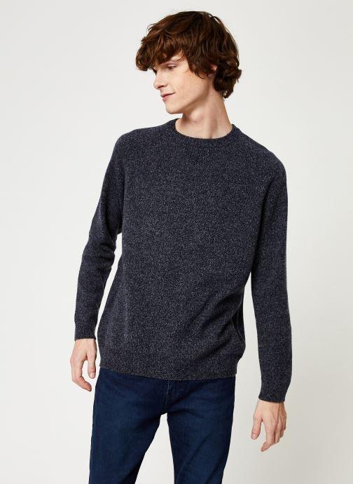 Vêtements Cuisse de Grenouille KNIT SWEATER - CLASSIC Bleu vue droite