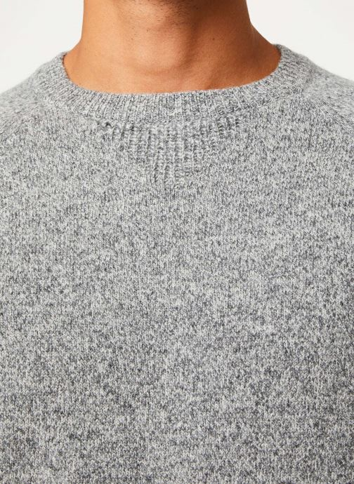 Vêtements Cuisse de Grenouille KNIT SWEATER - CLASSIC Gris vue face