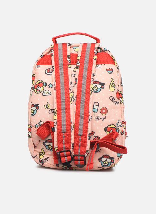 Schooltassen kipling SEOUL GO Roze voorkant