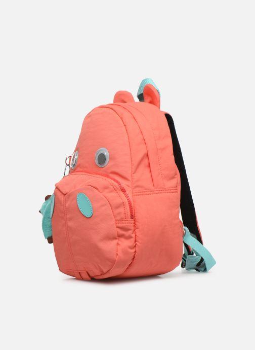 Per la scuola kipling HIPPO Rosa modello indossato