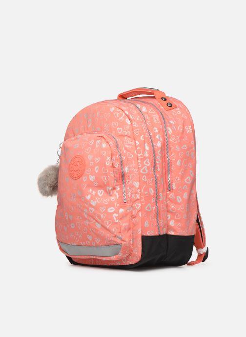 Schulzubehör kipling CLASS ROOM rosa schuhe getragen