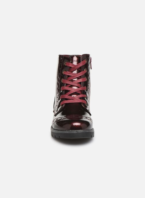 Ankle boots Conguitos Jl1 112 90 Burgundy model view