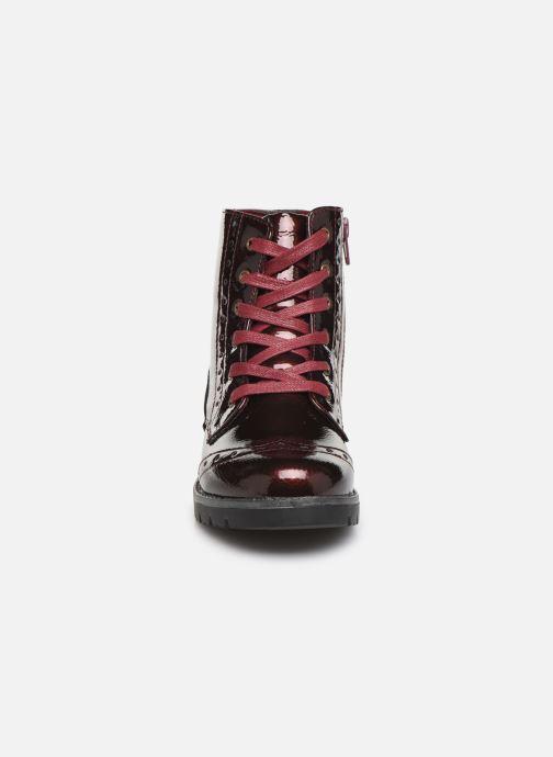 Bottines et boots Conguitos Jl1 112 90 Bordeaux vue portées chaussures