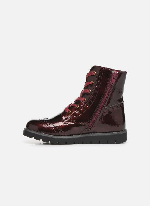 Ankle boots Conguitos Jl1 112 90 Burgundy front view