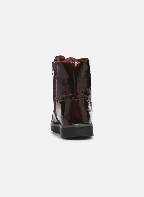 Ankle boots Conguitos Jl1 112 90 Burgundy view from the right