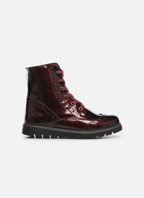 Ankle boots Conguitos Jl1 112 90 Burgundy back view