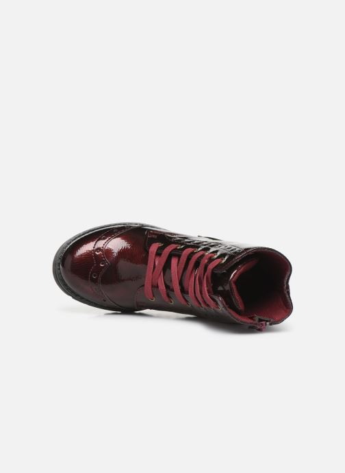 Ankle boots Conguitos Jl1 112 90 Burgundy view from the left