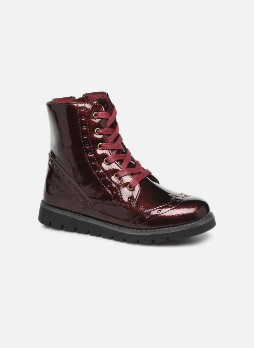 Ankle boots Conguitos Jl1 112 90 Burgundy detailed view/ Pair view
