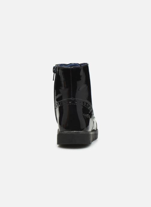 Bottines et boots Conguitos Jl1 112 90 Bleu vue droite