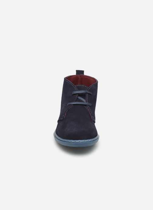 Bottines et boots Conguitos Jl1 287 10 Bleu vue portées chaussures