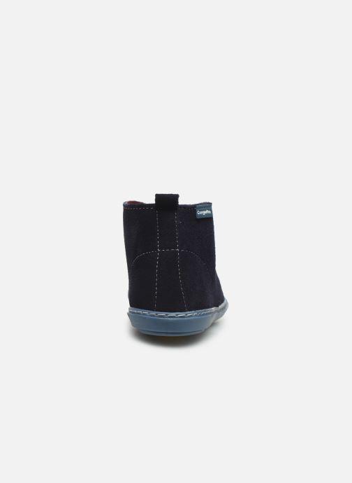 Bottines et boots Conguitos Jl1 287 10 Bleu vue droite