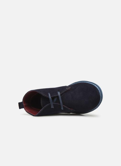 Bottines et boots Conguitos Jl1 287 10 Bleu vue gauche