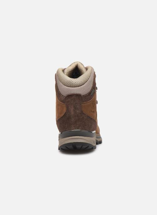 Chaussures de sport HAGLOFS Vyn GT Women Marron vue droite