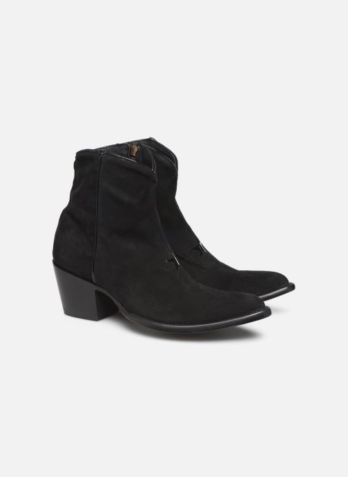 Bottines et boots Mexicana Star 2 Noir vue 3/4
