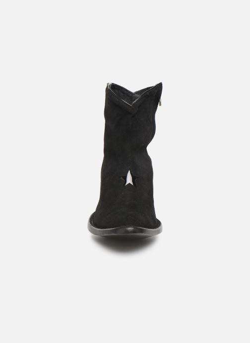 Bottines et boots Mexicana Star 2 Noir vue portées chaussures