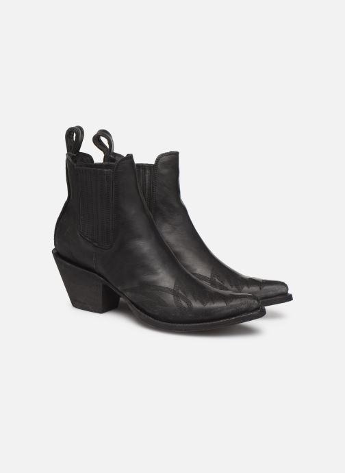 Bottines et boots Mexicana Gaucho 2 Noir vue 3/4