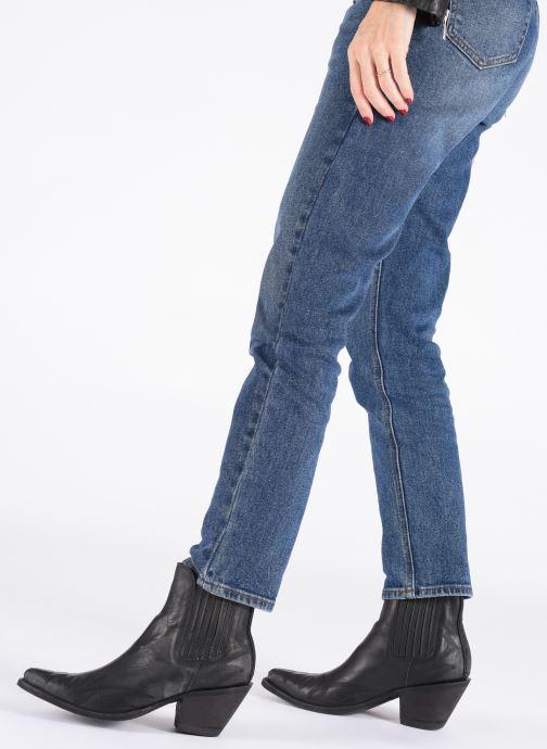 Bottines et boots Mexicana Gaucho 2 Noir vue bas / vue portée sac