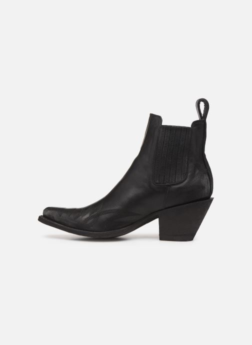 Ankle boots Mexicana Gaucho 2 Black front view