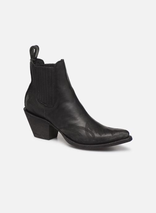 Ankelstøvler Mexicana Gaucho 2 Sort detaljeret billede af skoene