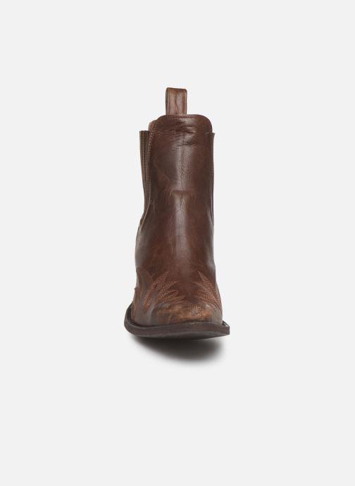 Boots en enkellaarsjes Mexicana Gaucho 2 Bruin model