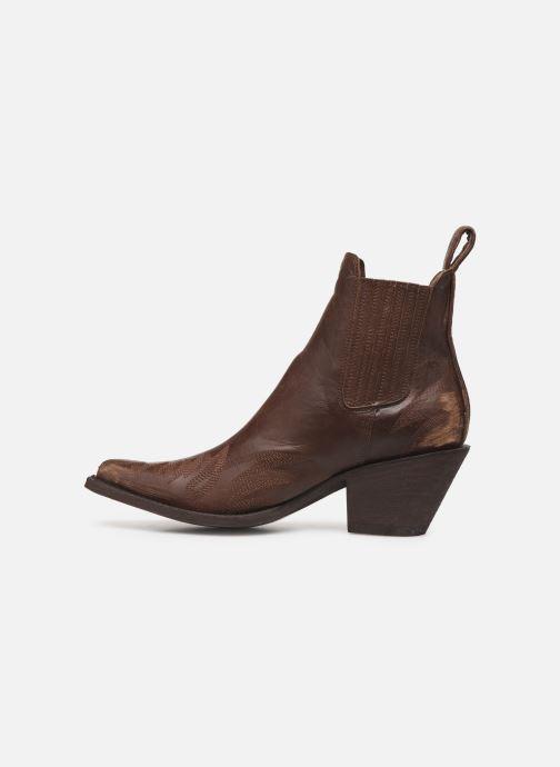 Boots en enkellaarsjes Mexicana Gaucho 2 Bruin voorkant