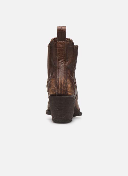 Boots en enkellaarsjes Mexicana Gaucho 2 Bruin rechts