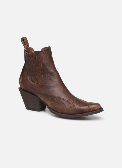 Boots en enkellaarsjes Mexicana Gaucho 2 Bruin detail