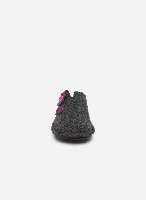 Chaussons Romika Mikado 111 Gris vue portées chaussures