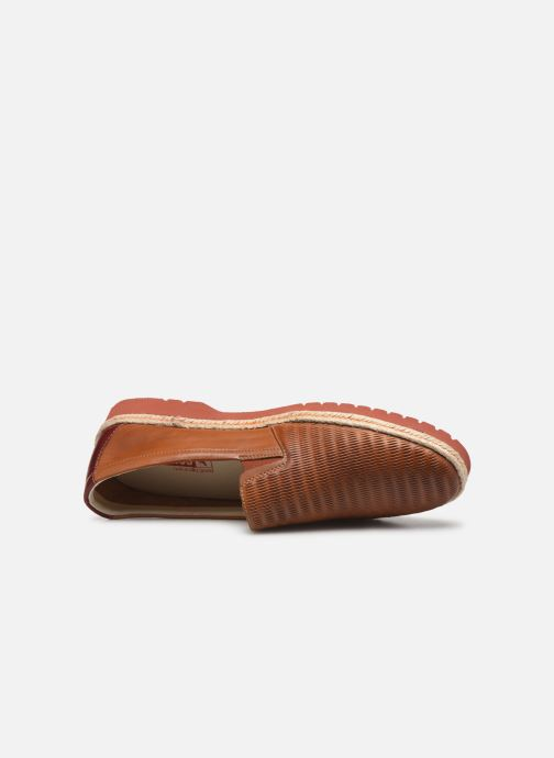 Loafers Pikolinos Bolonia 3137 Brown view from the left