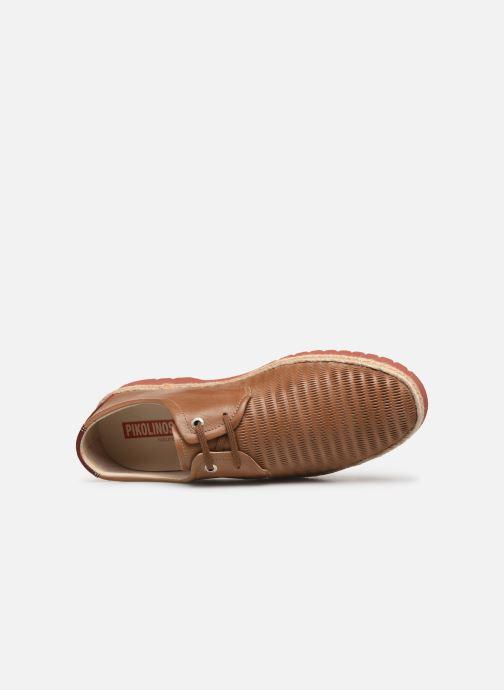 Scarpe con lacci Pikolinos Bolonia 4220 Marrone immagine sinistra