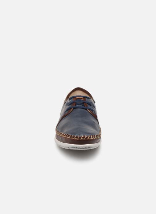 Snörade skor Pikolinos Altet Blå bild av skorna på