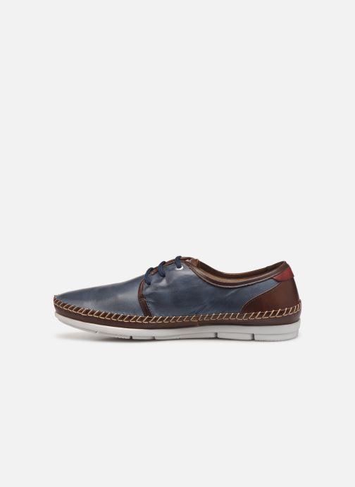 Snörade skor Pikolinos Altet Blå bild från framsidan