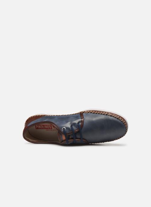 Snörade skor Pikolinos Altet Blå bild från vänster sidan