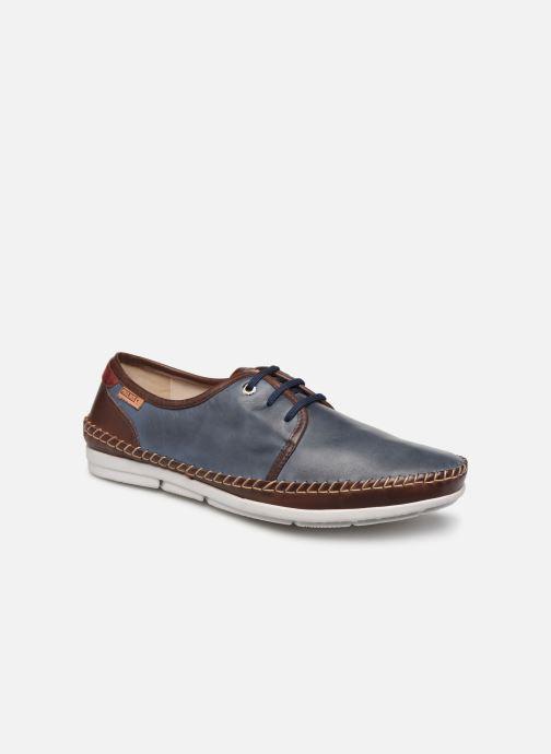 Snörade skor Pikolinos Altet Blå detaljerad bild på paret