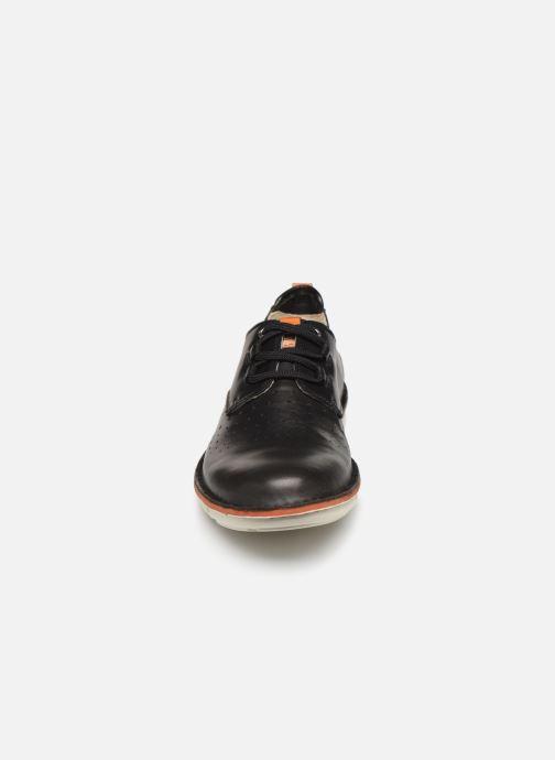 Zapatos con cordones Pikolinos Tudela M6J Negro vista del modelo