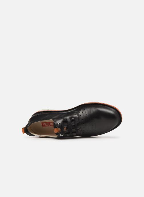 Zapatos con cordones Pikolinos Tudela M6J Negro vista lateral izquierda
