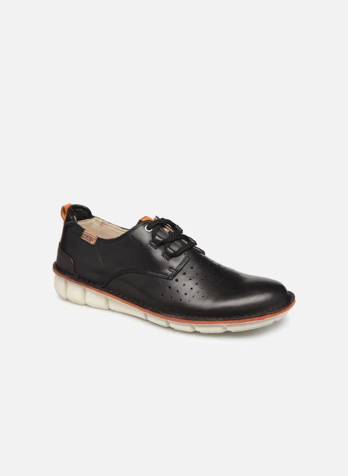 Zapatos con cordones Pikolinos Tudela M6J Negro vista de detalle / par