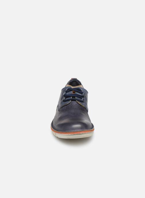 Chaussures à lacets Pikolinos Tudela M6J Bleu vue portées chaussures