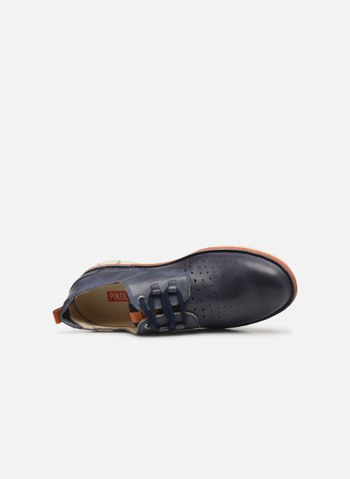 Chaussures à lacets Pikolinos Tudela M6J Bleu vue gauche