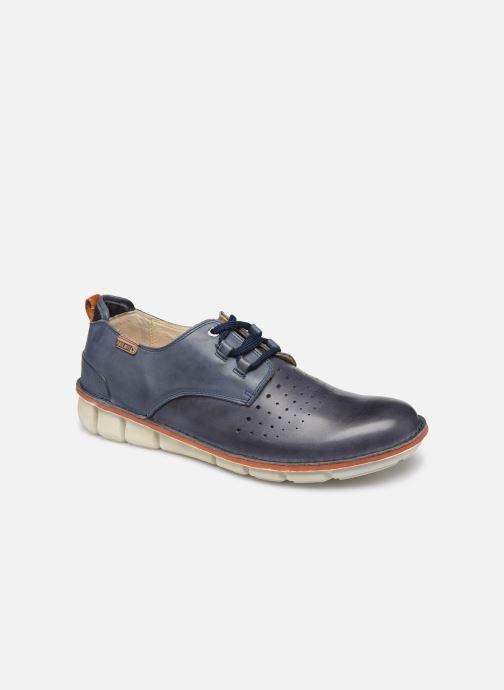 Chaussures à lacets Pikolinos Tudela M6J Bleu vue détail/paire