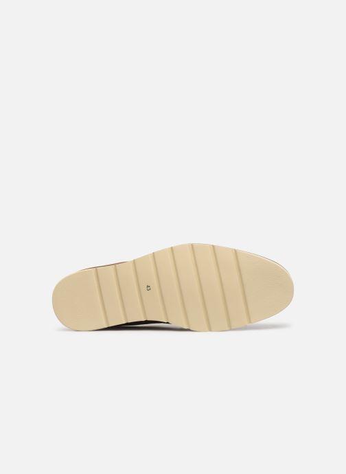 Zapatos con cordones Pikolinos Toulouse M Stand M7L-4227 Marrón vista de arriba