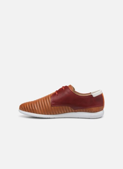 Lace-up shoes Pikolinos Faro Orange front view